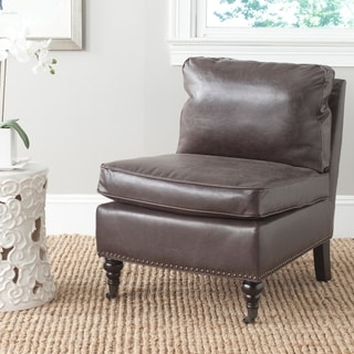 Safavieh Randy Antique Brown Slipper Chair
