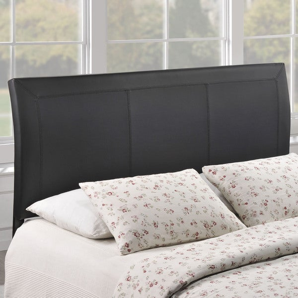 Isabella Contemporary Faux Leather Queen-size Headboard