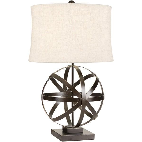Opulent Metal Orb Lamp