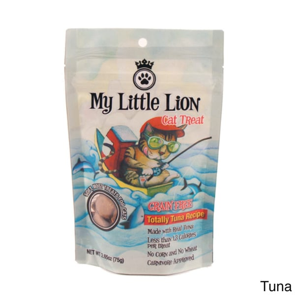 Wagger 'My Little Lion' Grain-Free Cat Treats