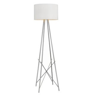 Ryan Tripod Silver Finish Floor Lamp