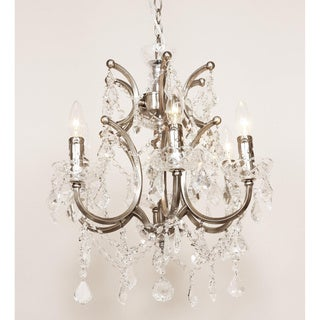 Vastervik Brushed Nickel 6-lights Chandelier