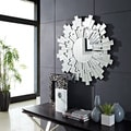 Radiant Round Linked Wall Mirror