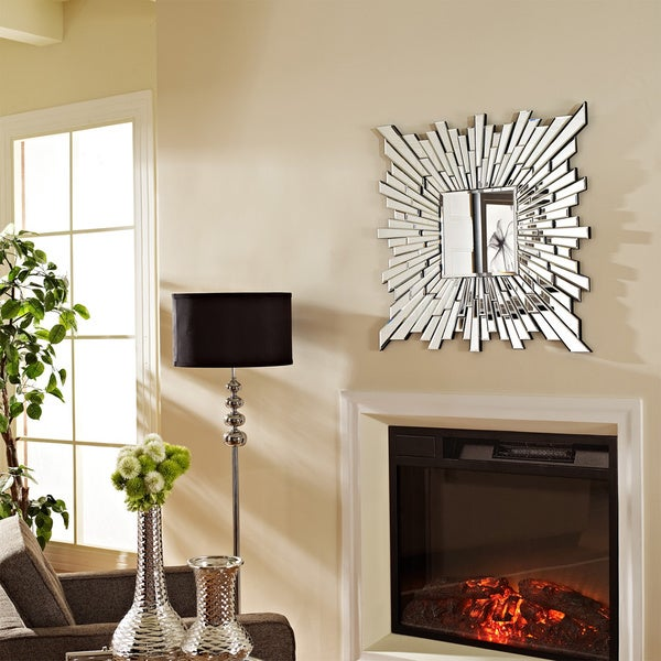Radiant Square Stagger Wall Mirror