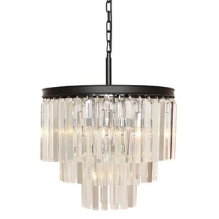 Vanersborg Crystal/Metal Chandelier