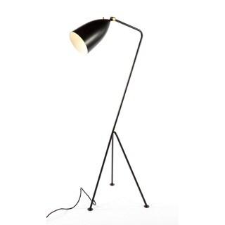 Grasshopper 1-light Black Floor Lamp