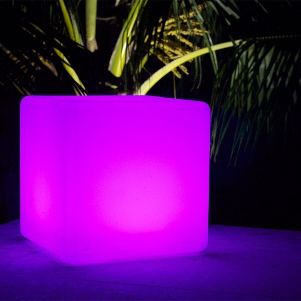 CoolFunLight Simple LED Lighting Cube with Remote