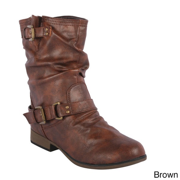Forever Women's Chapter-33' Mid-calf Slouch Boots