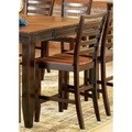 Acacia Counter Height Dining Chair (Set of 2)