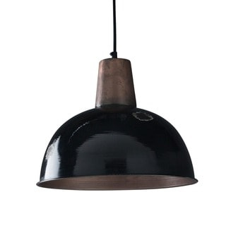 Bristol Steel Hanging Lamp , Handmade in India