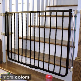 Evenflo Top-of-Stair Extra Tall Child Gate - 14182183 - Overstock.com ...