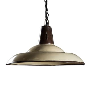 Addison Distressed Steel Hanging Lamp (India)