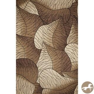 Christopher Knight Home Flatweave Fauna Beige Area Rug (5'3 x 7'7)