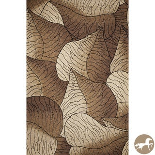 Christopher Knight Home Flatweave Fauna Beige Area Rug (6'9 x 9'6)