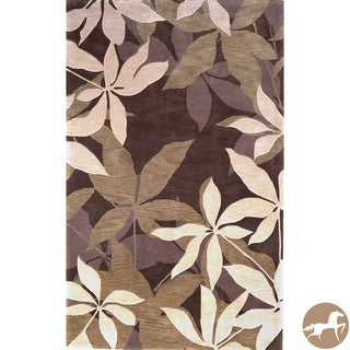 Christopher Knight Home Hand-tufted Oasis Mocha/ Sage Area Rug (5' x 8')