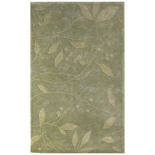 Christopher Knight Home Hand-tufted Celadon Visions Green Area Rug (5' x 8')