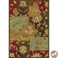 Christopher Knight Home Mahal Views Mocha Area Rug (3'3 x 4'7)