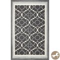 Christopher Knight Home Charcoal Filigree Area Rug (7'6 x 9'6)