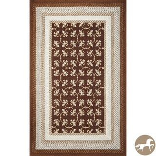 Christopher Knight Home Mocha Tiles Area Rug (7'6 x 9'6)