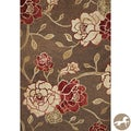 Christopher Knight Home Mocha Flora Area Rug (8'1 x 11'2)