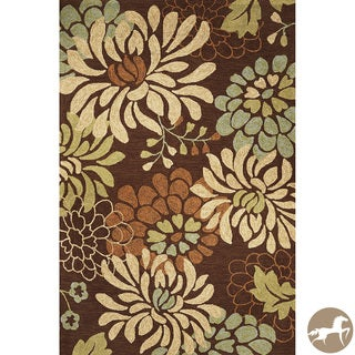 Christopher Knight Home Mocha Silhouette Area Rug (3'3 x 5'3)