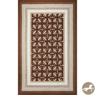 Christopher Knight Home Mocha Tiles Area Rug (3'3 x 5'3)