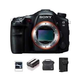Sony SLT-A99 DSLR Camera Black Body Only 32GB Bundle