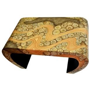 Catawba Tan Bamboo Console Table