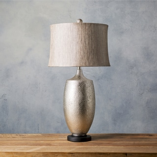 Bold Black Metal Lamp