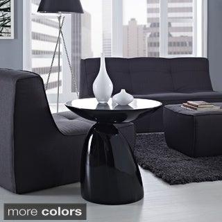 Modern Flow Fiberglass Side Table