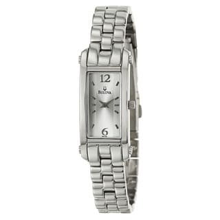 Bulova Women's 'Dress' Stainless Steel Quartz Watch