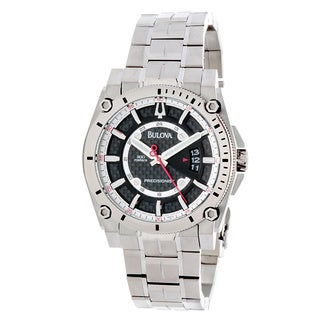 Bulova Men's 'Precisionist Champlain' Titanium Mechanical Automatic Watch