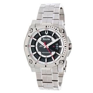 Bulova Men's 'Precisionist Champlain' Titanium Quartz Watch