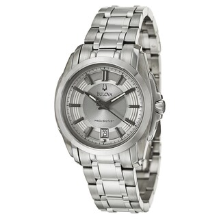 Bulova Men's 96B130 'Precisionist Longwood' Stainless Steel Quartz Watch