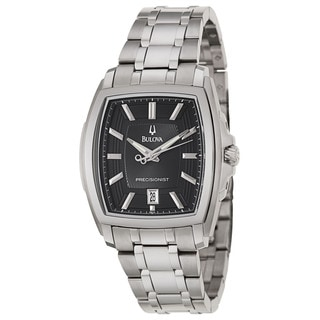 Bulova Men's 'Precisionist Longwood' Stainless Steel Japanese Quartz Watch