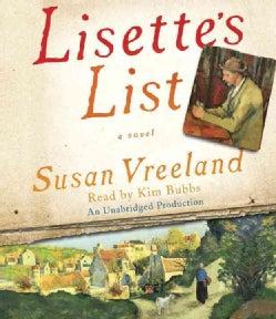 Lisette's List (CD-Audio)