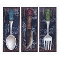 Colorful Flatware and Dinner Decor Set