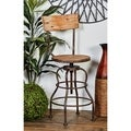 Old Look Bar Chair with Adjustable Seat