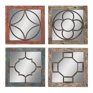 Rustic Mirrors (Set of 4)