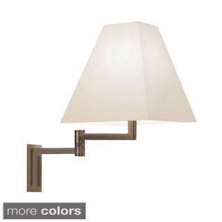 Sonneman Lighting Square 1-light Swing Arm Sconce