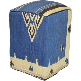 Decorative Kilim Wool-dyed Ottoman