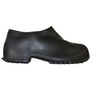 Men's Black Rubber Hi-top Work Boot Overshoes