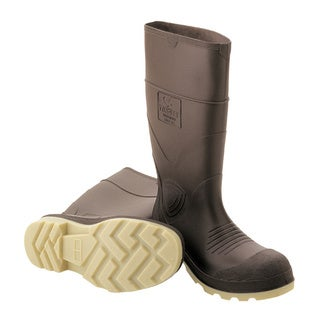 Men's Brown 'Better Grade' PVC Waterproof Boots