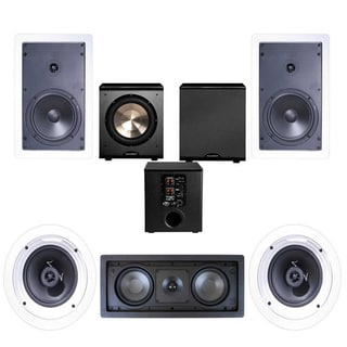 Klipsch R-1650-W In-wall II 5.1 Home Theater System