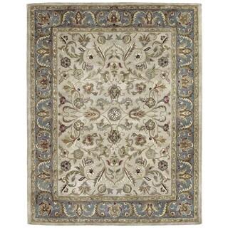 Hand-tufted Royal Taj Beige Wool Area Rug (2' x 3')