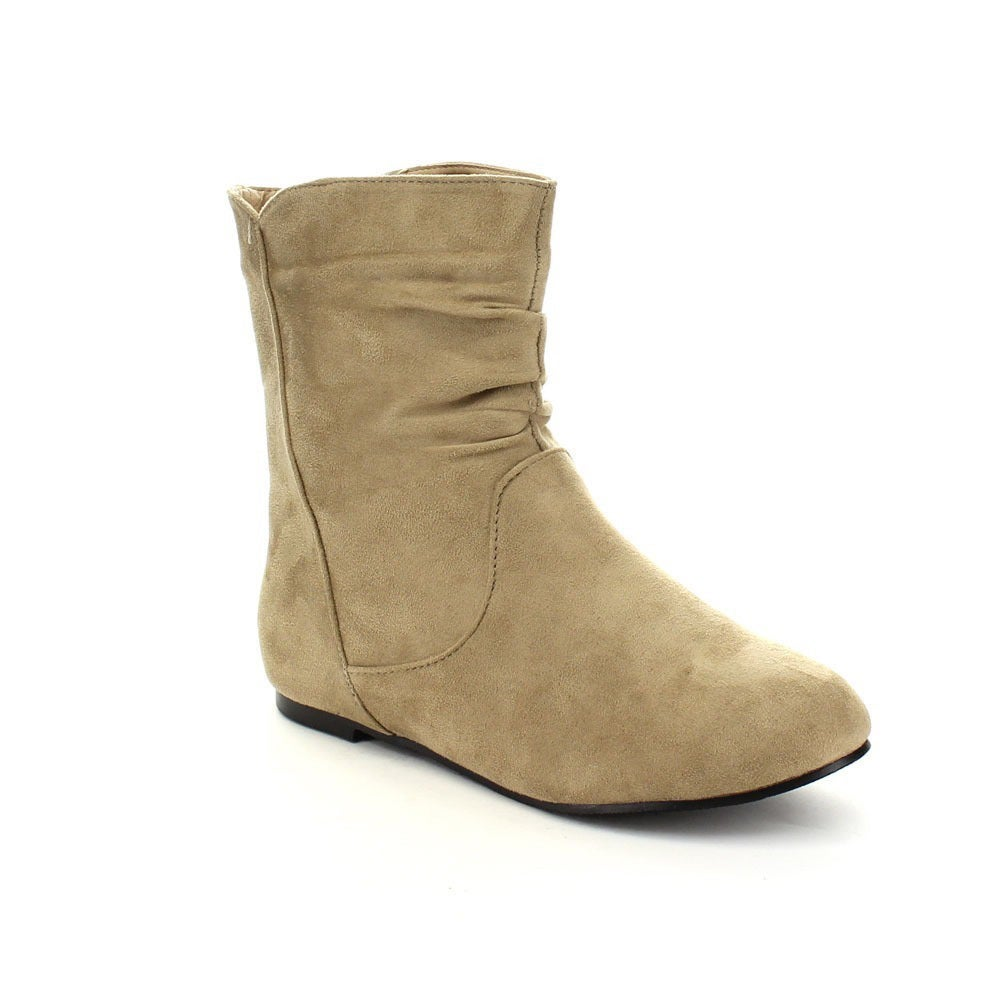 Overstock.com Radiant Women's 'Tasteful' Pull-on Ankle Boots at Sears.com