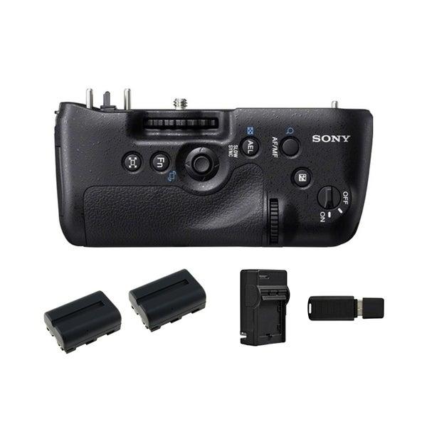 Sony Vertical Battery Grip for Alpha A99 DSLR Camera Bundle