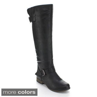 Forever Women's 'Legend-24' Knee-high Riding Boots