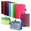 Gearonic PU Leather Case Cover Stand for 2013 Kindle Fire HDX 7""