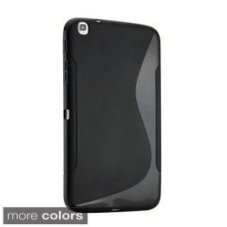 Gearonic S Shape TPU Gel Soft Case for Samsung Galaxy Tab 3 8.0 P8200